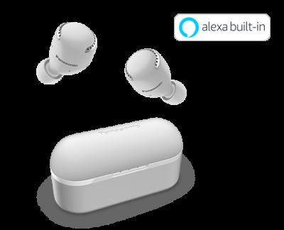 Panasonic True Wireless Noise Cancelling Headphones In White - RZS500WW