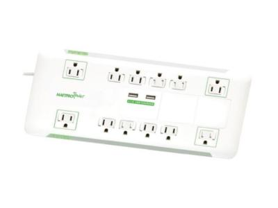 Maestro Slim Power Bar With 12 Outlets - MPB12