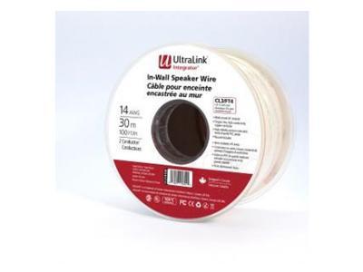 Ultralink Ul Integrator In Wall Speaker Wire 4-c 14 Gauge 100 Feet CL414100