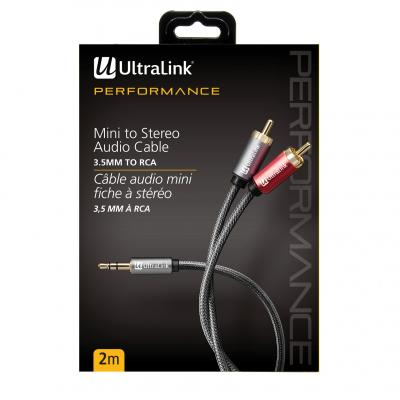 Ultralink  2m Audio Cable 3.5 to Rca - ULP2MP32