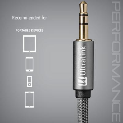 Ultralink Mini Stereo AUX Audio Cable 3.5mm to 3.5mm -  ULP2AUX2