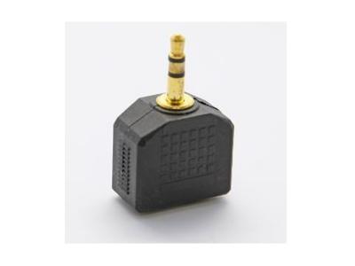Ultralink Stereo Mini Jack/plug /duplex Adap UHS533
