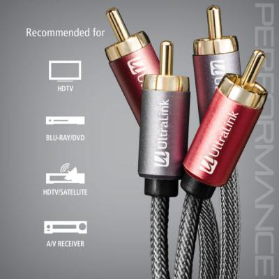 Ultralink 2m Audio Cable Rca to Rca - ULP2A2