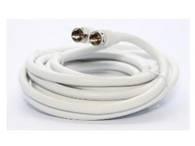 Ultralink 25 Ft Rg6 Coaxial W/f Connector White Ultralinkhome UHRG625C
