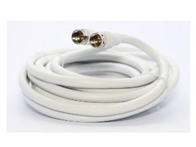 Ultralink 6 Ft Rg6 Coaxial Cable W/f Connectr White Ultralinkhome UHRG66C