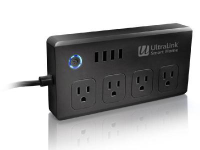 Ultralink Smart Wi-fi Surge Protector - USHPB1B
