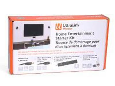 Ultralink Home Hd Starter Kit Cable, Power Bar, Scrn Cleaner ULHDKIT1